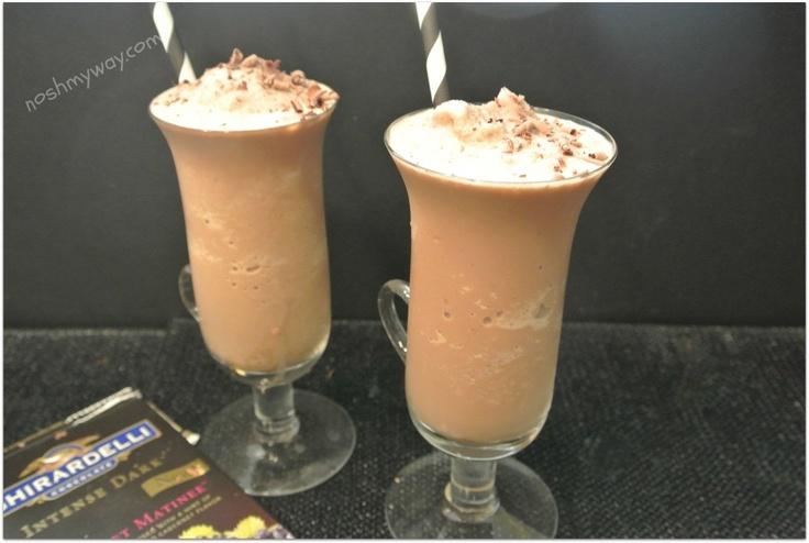 Frozen Mocha Malted Recipe Malt recipe, Yummy drinks, Malt
