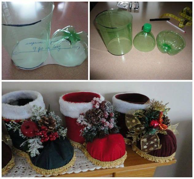 As melhores ideias de enfeites de Natal com materiais recicláveis de um jeito que você nunca viu.