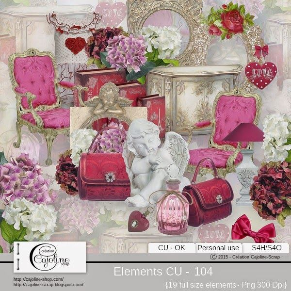 CAJOLINE-SCRAP: Elements CU - 104