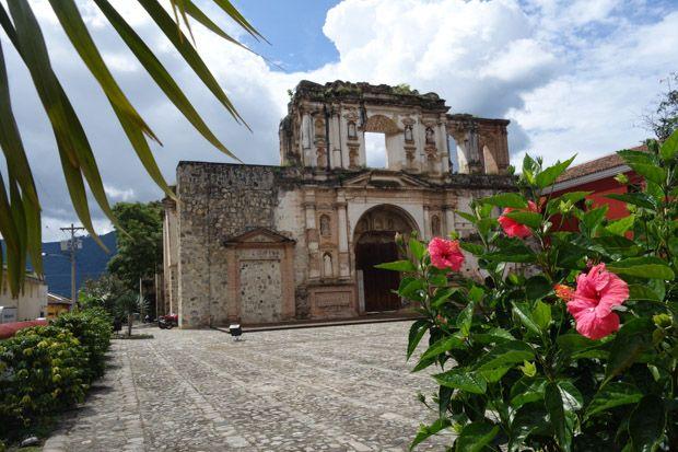 Antigua ruins, on a custom #Guatemala tour with AdventureSmith