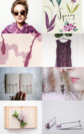 Purple mood by rosa strozzi on Etsy--Pinned with TreasuryPin.com