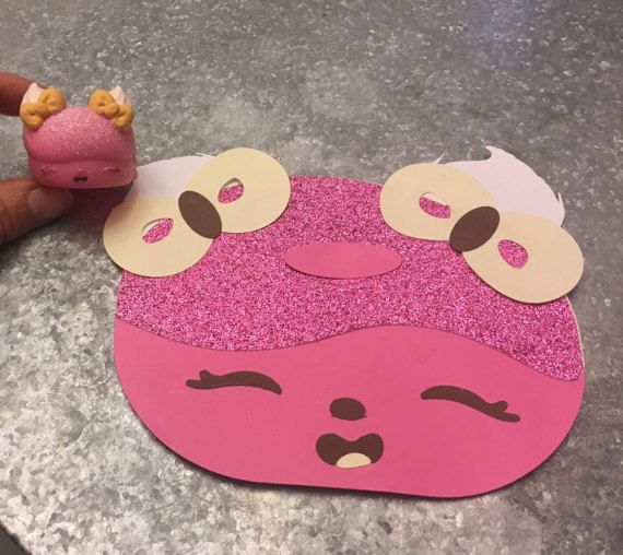 Num Noms Inspired Birthday Card Greeting by SonsandDaughtersSoap