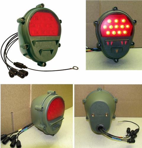 Military Trailer Led Tail Lights