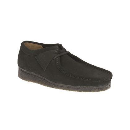 Clarks Wallabee - Daim noir - Chaussures Originals homme | Clarks