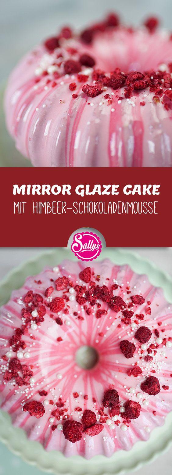 Die Mirror Glaze, eine Spiegelglanzglasur ist ganz…