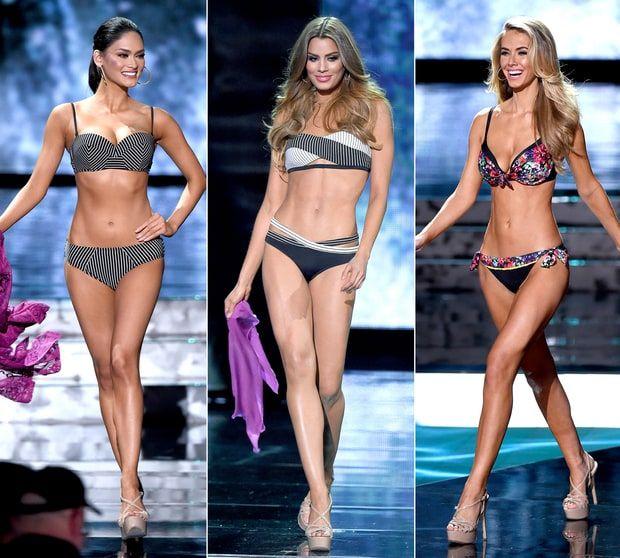 Miss Universe 2015: Top 10 Finalists' Bikini Bodies