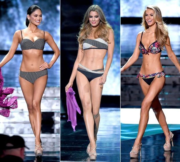 Miss Universe 2015: Top 10 Finalists' Bikini Bodies