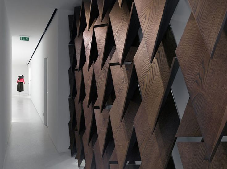 Yohji Yamamoto store l SOPHIE HICKS l Paris, France l 2008