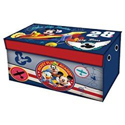 Disney Mickey Mouse Collapsible Nursery Storage Trunk