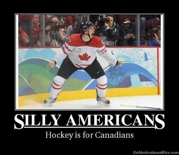 2014 Olympics. Canada vs. USA. :)