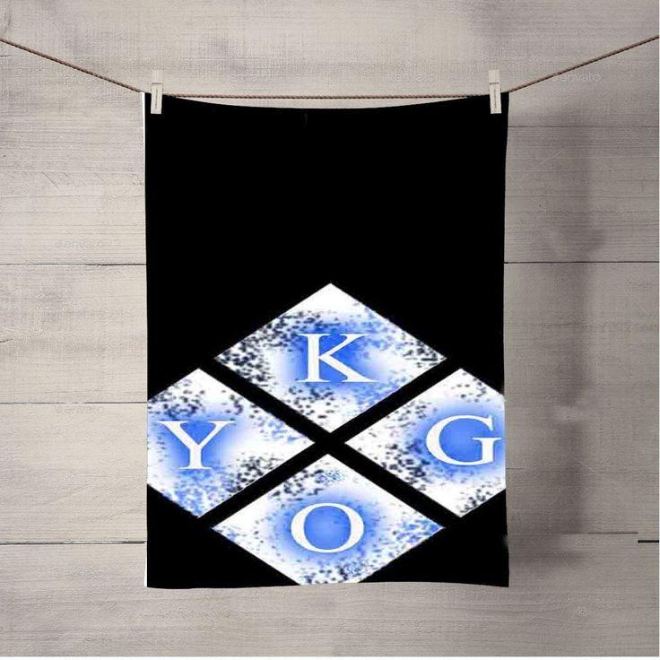 Kygo Logo Light Bath Towel Beach Towels