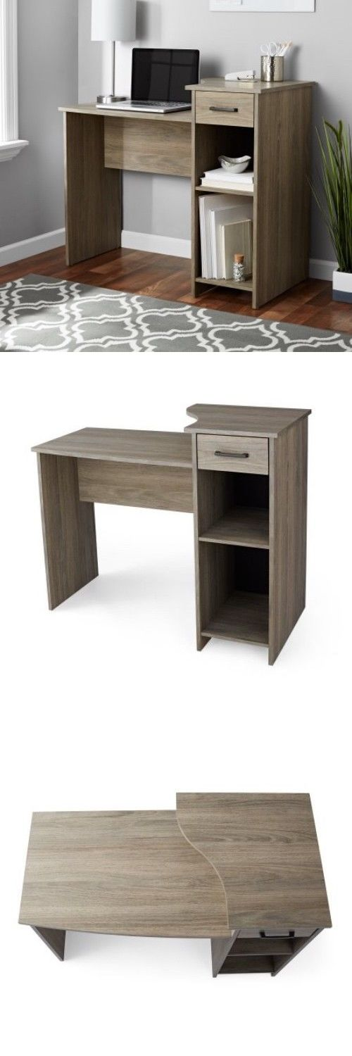 Office Furniture: Small Computer Desk Office Home Student Dorm Spaces  Writing Laptop Furniture New