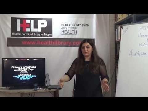 #Lusher #Colour #Test Part - III : Colours of #Fatness By Ms.# Anu Mehta HELP Talks Video#metahealth | Anu Mehta