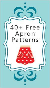 40+ Free Apron Patterns & Tutorials