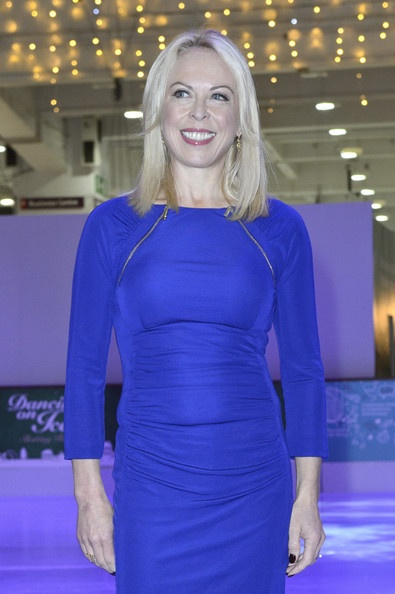 Jayne Torvill at Ideal Home Show At Christmas - Click on picture to learn about her fundraiser project to help foster families in East Sussex