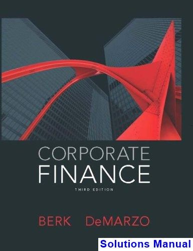 corporate finance quiz and answers