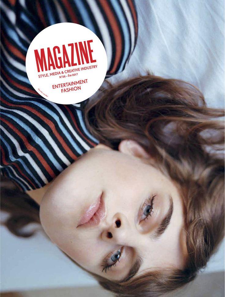 Magazine Magazine, n°28, été 2017, coquetier Zèbre par Quail Ceramics