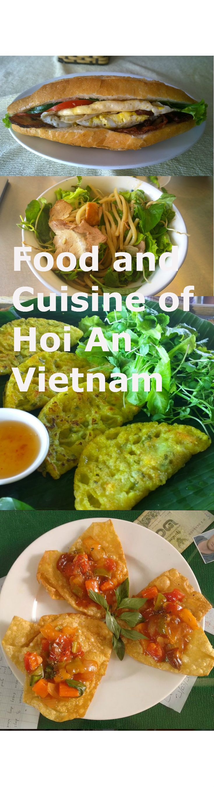 Food and Cuisine of Hoi An Vietnam