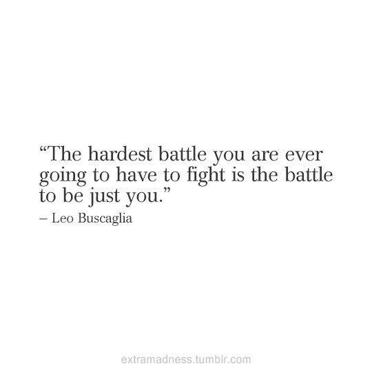I'll keep fighting & I WILL win.