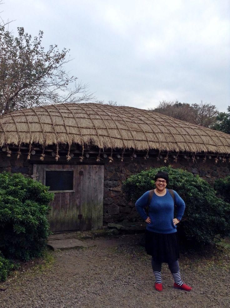 Traditional house in Jeju #KOREA