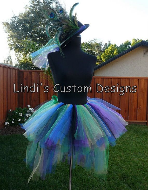 Tutu tops for teens adult teen girls bustle style tutu amp top hat
