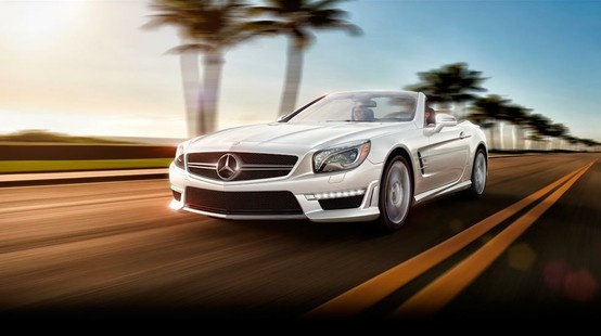 """Mercedes-Benz SL-Class. Who says """"transport of delight"""" is just a figure of speech?"""