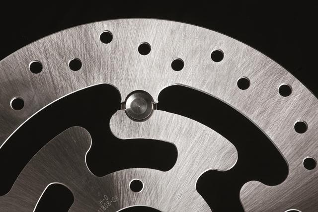 One Pin disc and caliper for motorcycles, 2007.