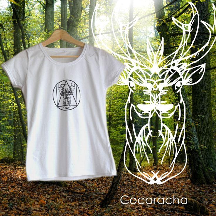 Deer ethnic t-shirt
