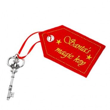 Santa Magic Key Tree Decoration - Kids Novelty - Create the Look - Christmas Themes - Christmas