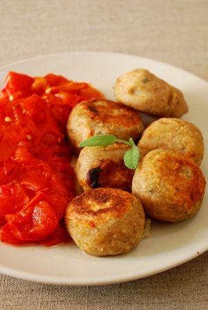 boulettes de sarrasin à la sauge, au parmesan et à la mozarella