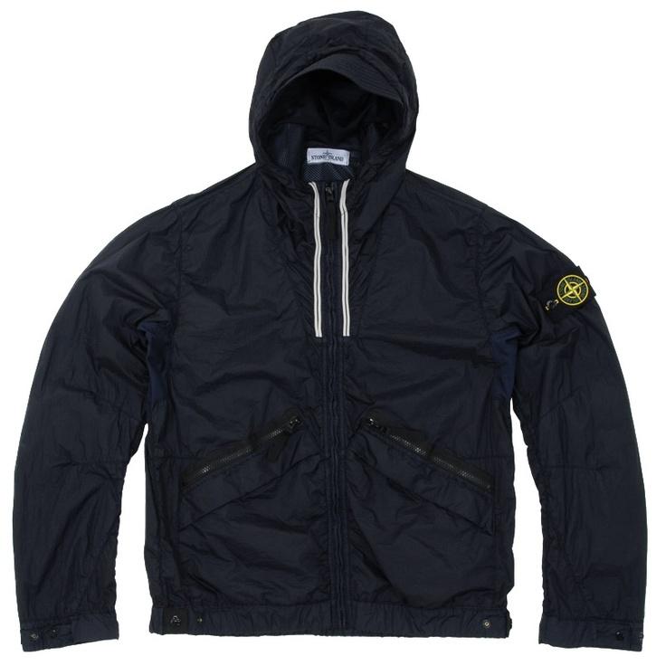 Stone Island Membrana Nylon Hooded Jacket