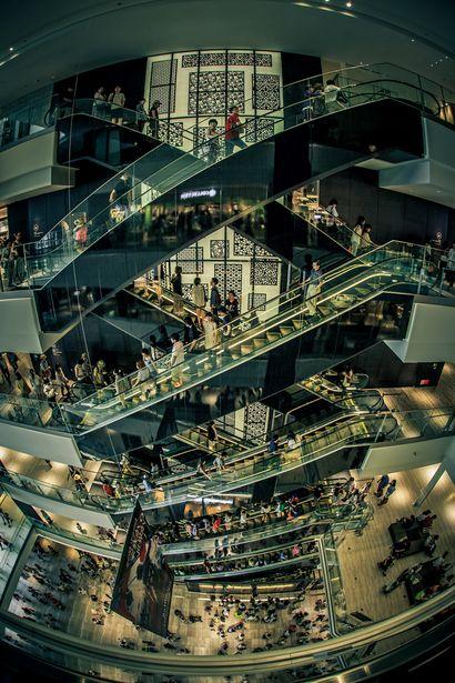 立体交差- Grand Front Mall ,Osaka