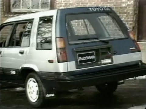 MotorWeek | Retro Review: 1984 Toyota Tercel SR5 4WD Wagon