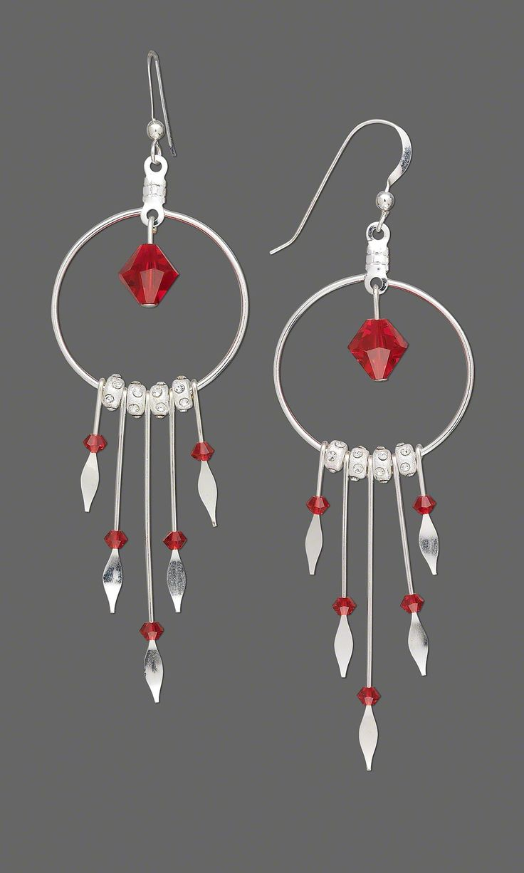 Jewelry Design – Earrings with Sterling Silver Pad…