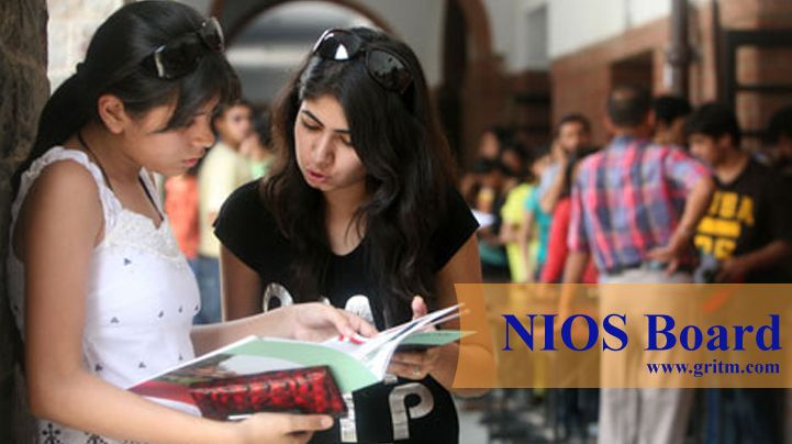 NIOS Admission 2017 for 10th 12th