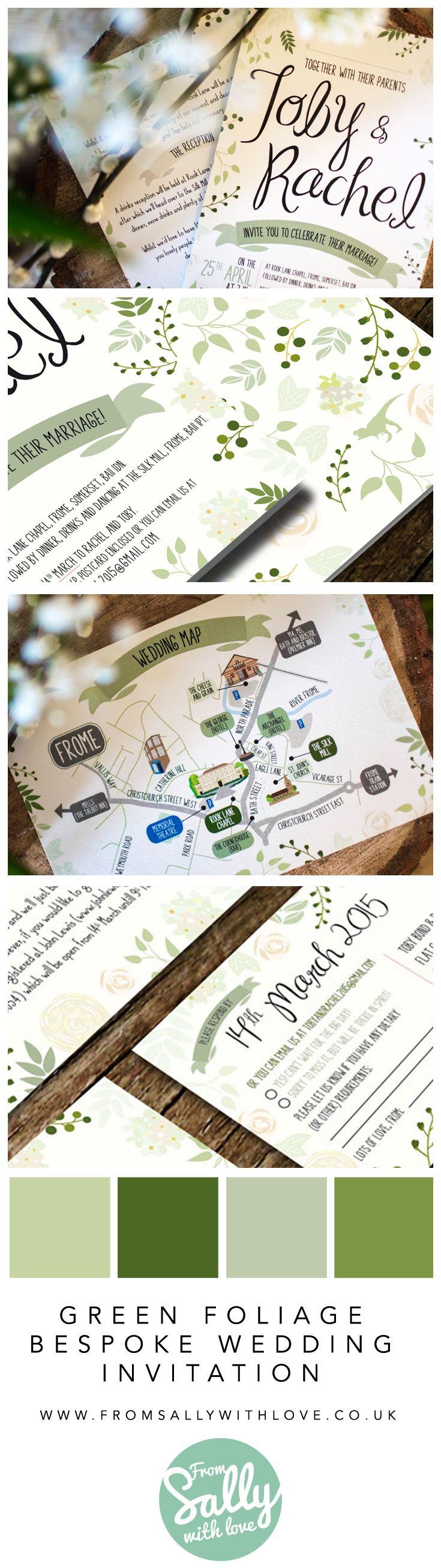 53 best Bespoke Wedding Invitations images on Pinterest | Beautiful ...