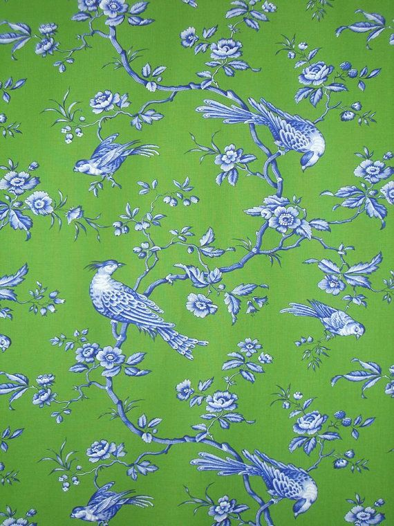 Blue And Green Dining Room: 25 Best Images About Green And Blue Toile On Pinterest