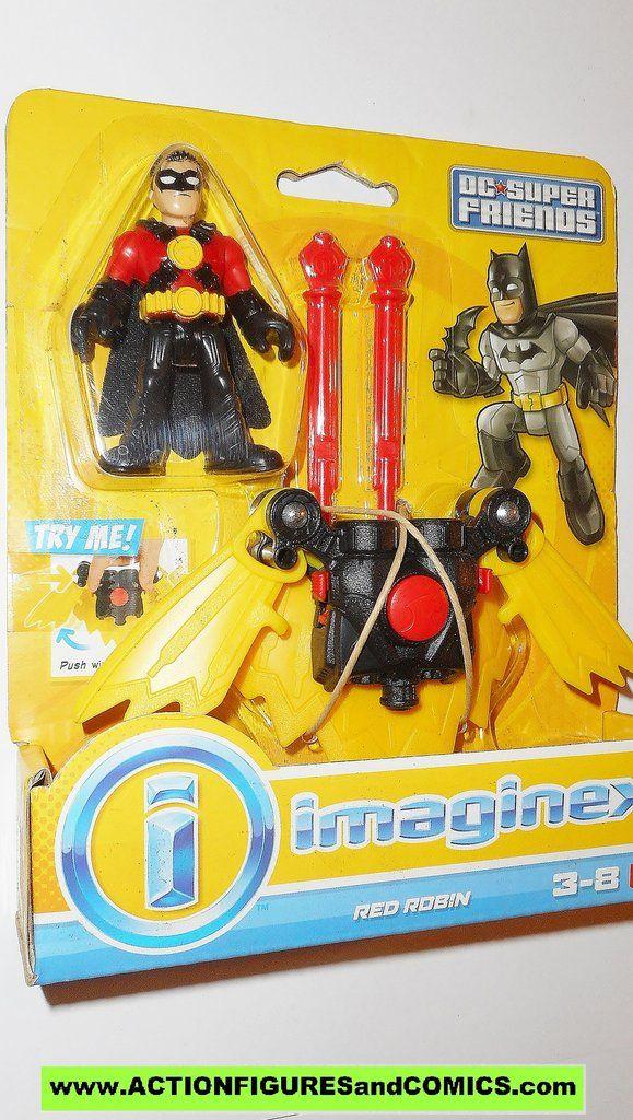 DC imaginext RED ROBIN batman fisher price justice league super friends universe moc