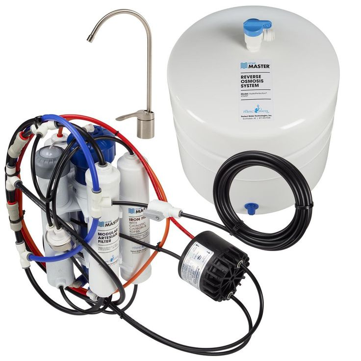 HydroPerfection Loaded Under Sink Reverse Osmosis Water Filter System, Brushed Nickel