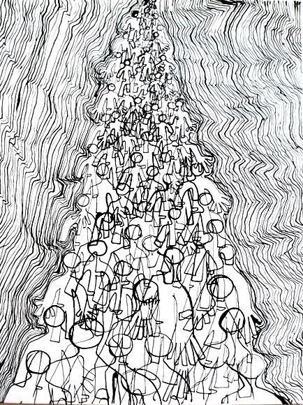 AntiPop  China su carta Stefano Mariotti 2014