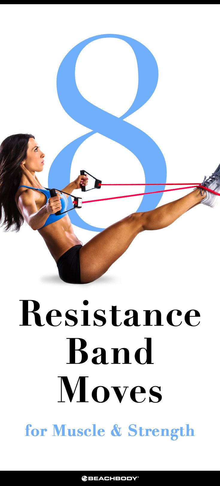8 Resistance Bands Moves for Muscle and Strength | The Beachbody Blog