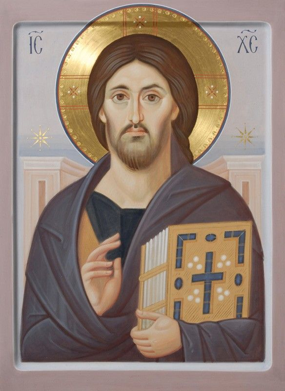 Catalogue of St Elisabeth Convent - Christ the Pantocrator - Hand Painted Icon