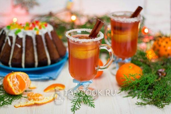 Пунш безалкогольный рождественский