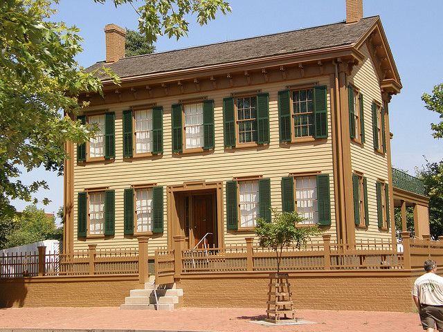 Abraham Lincoln's Home, National Historical Site, Springfield, Illinois