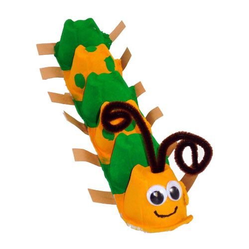 Elmer's - Egg Carton Animals | Egg Carton Caterpillar Craft - Elmer's // The Very Hungry Caterpillar #theveryhungrycaterpillar