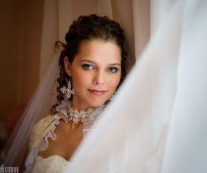 Колье для невесты, кружева