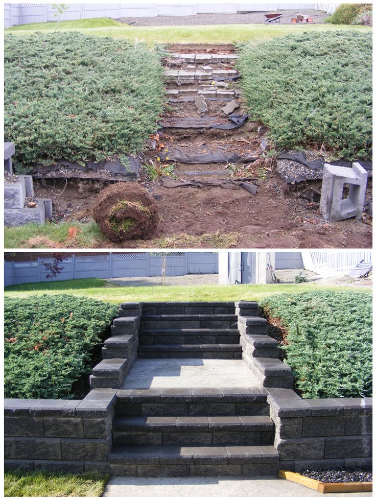 Poured Concrete Retaining Walls : Best images about retaining walls on pinterest