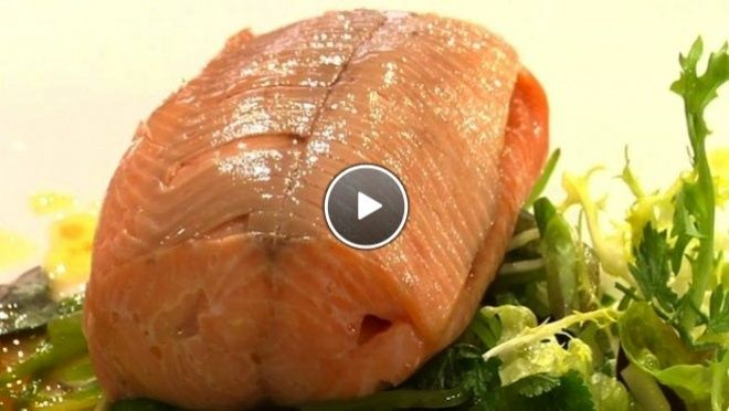 Gestoomde zalmforel - recept | 24Kitchen