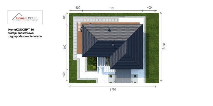 Projekt domu HomeKONCEPT 36 www.homekoncept.pl