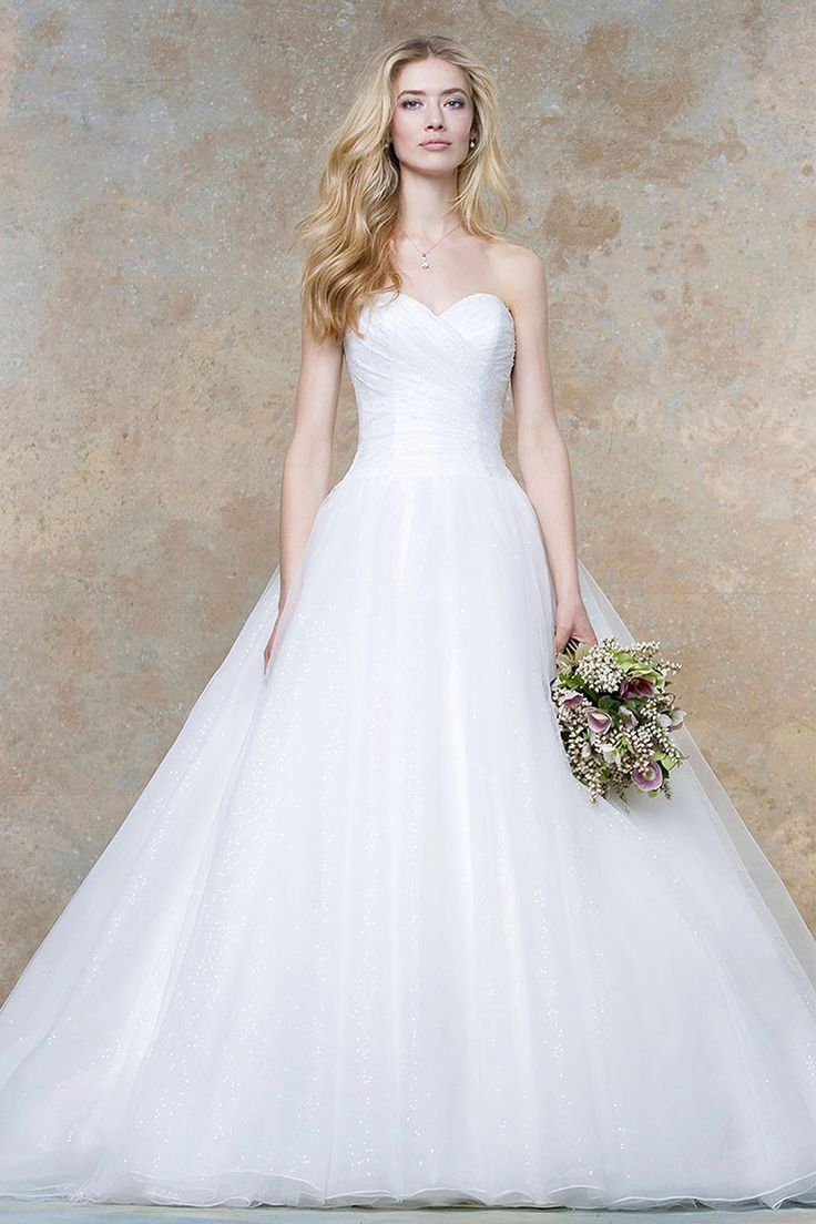 Pleated Sweetheart Strapless Ivory Ball Gown Statement Long Wedding Dress With Sequins Nz High Quality And Best Service On